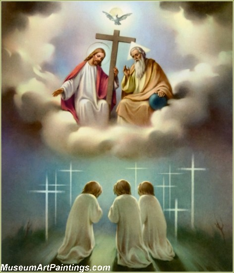 Jesus Christ Oil Paintings 091