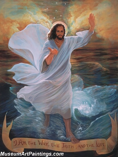 Jesus Christ Oil Paintings 094