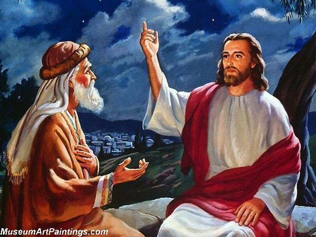 Jesus Christ Oil Paintings 096