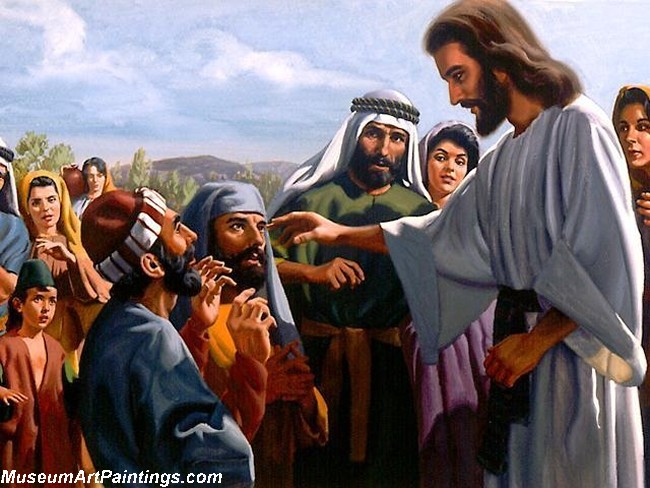 Jesus Christ Oil Paintings 097