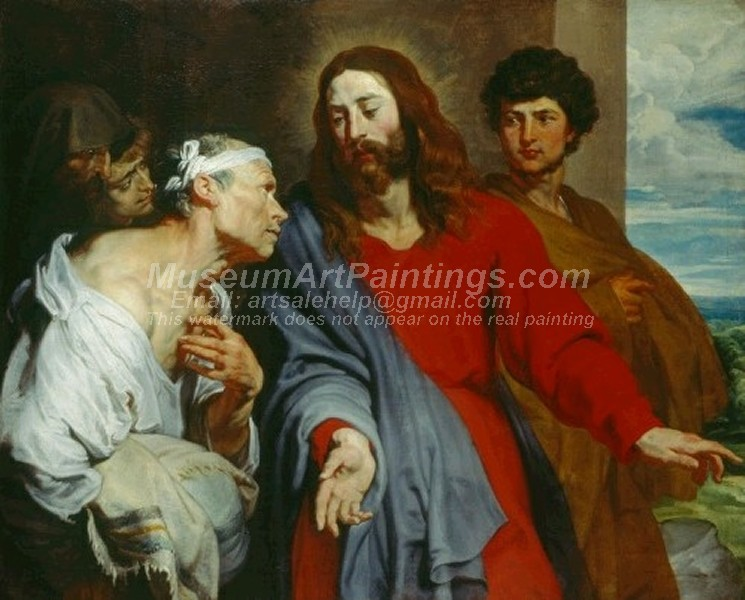 Jesus Christ Paintings Christ Healing the Paralytic