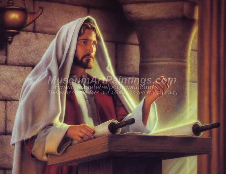 Jesus Oil Painting 006