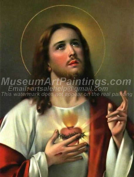 Jesus Oil Painting 007