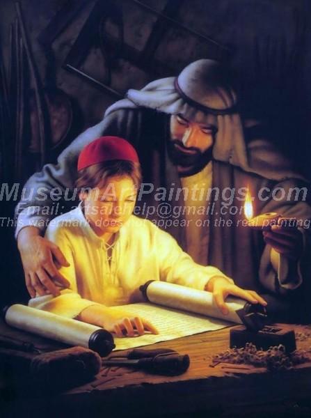 Jesus Oil Painting 009