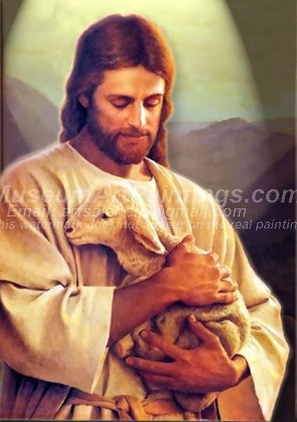 Jesus Oil Painting 014