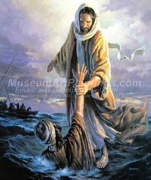 Jesus Oil Painting 016