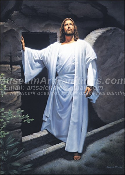 Jesus Oil Painting 017