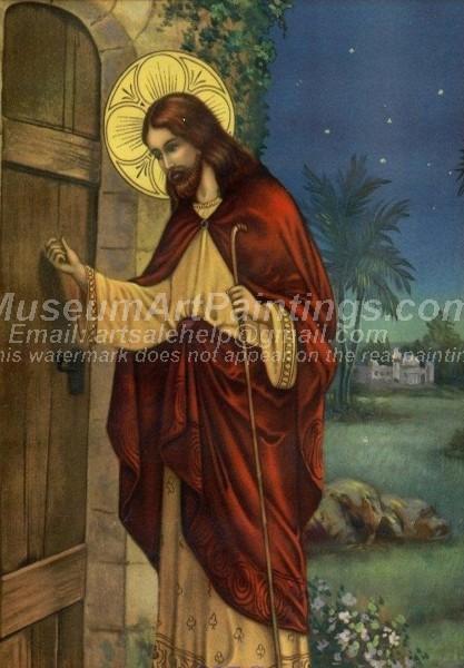 Jesus Oil Painting 019