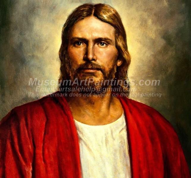 Jesus Oil Painting 020