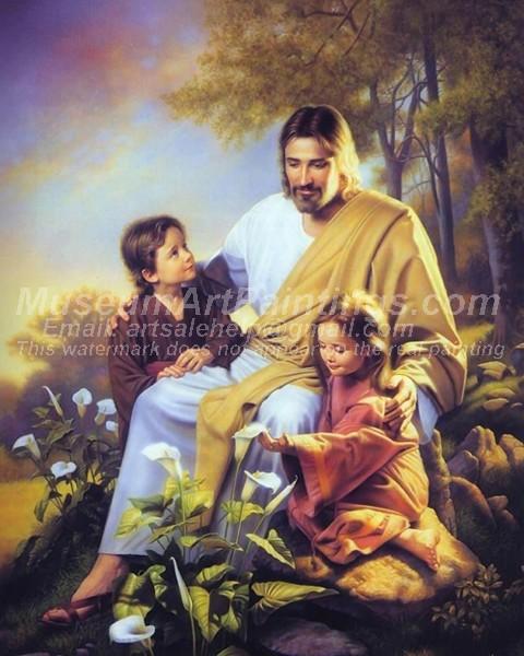 Jesus Oil Painting 021