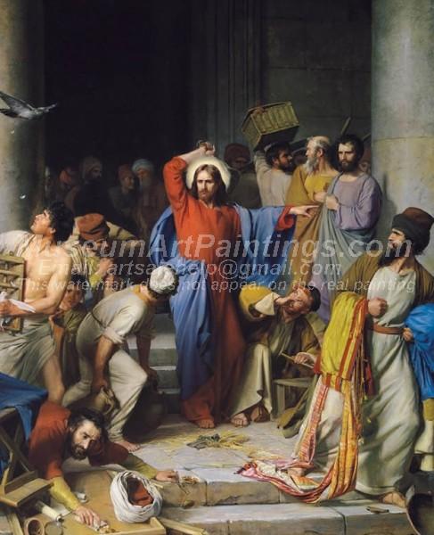 Jesus Oil Painting 024