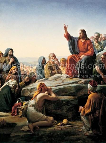 Jesus Oil Painting 025