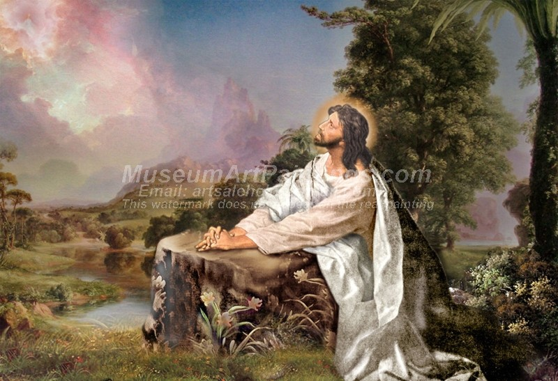 Jesus Oil Painting 029