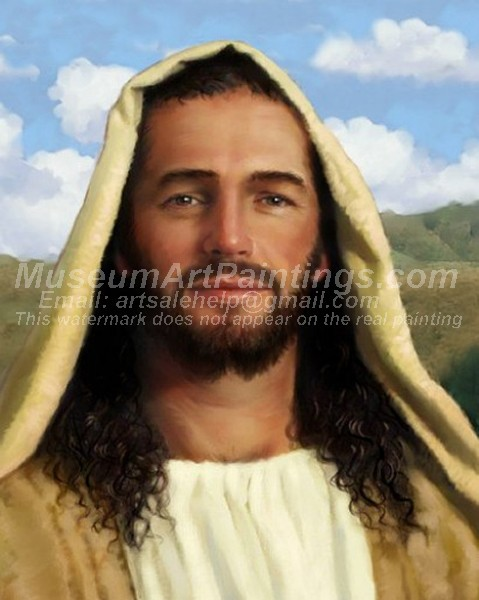 Jesus Oil Painting 040