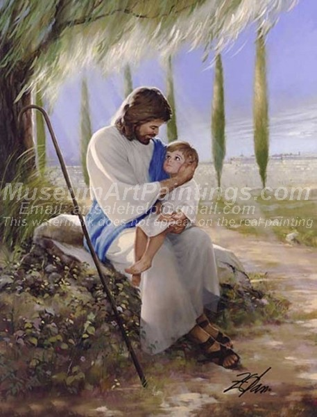 Jesus Oil Painting 055