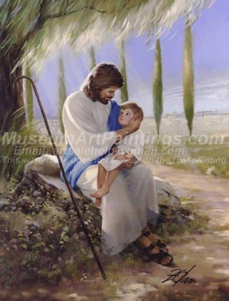 Jesus Oil Painting 055