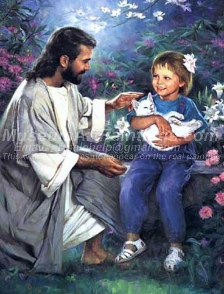 Jesus Oil Painting 056