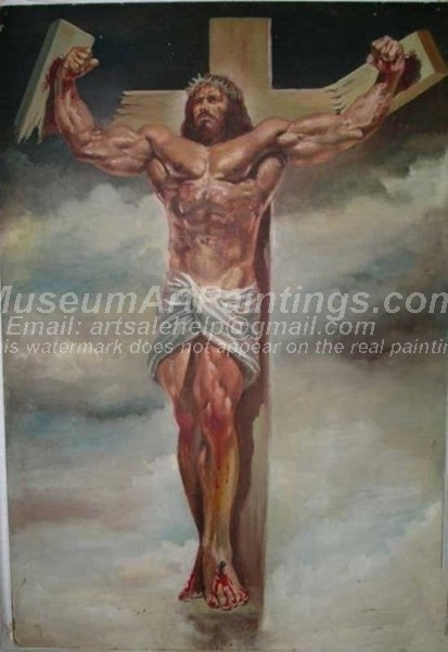 Jesus Oil Painting 061