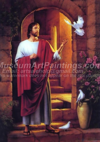 Jesus Oil Paintings 001