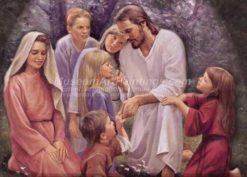 Jesus Oil Paintings 060