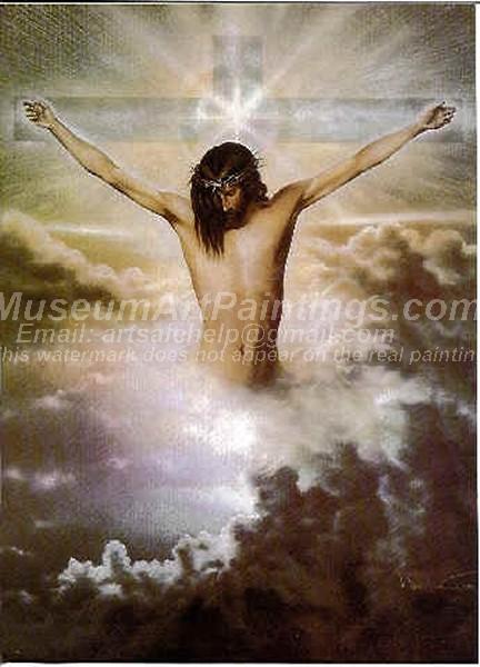 Jesus Oil Paintings 070