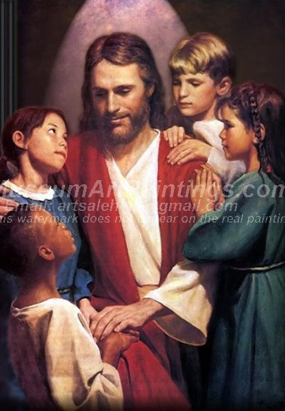 Jesus Oil Paintings 071