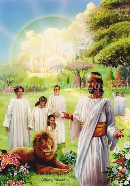 Jesus Oil Paintings 073