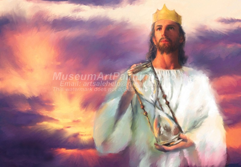 Jesus Oil Paintings 074