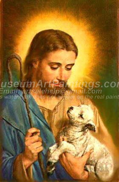 Jesus Oil Paintings 075