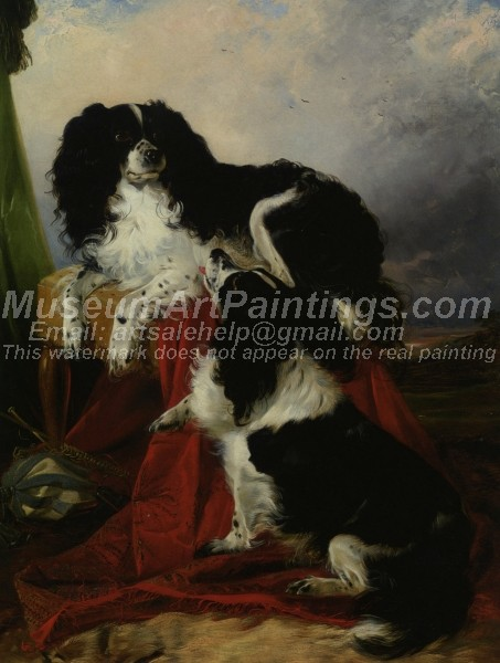 King Charles Spaniels Richard Ansdell