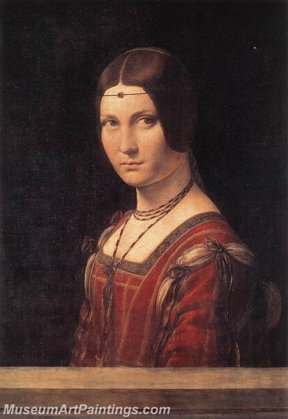 La Belle Ferroniere Painting