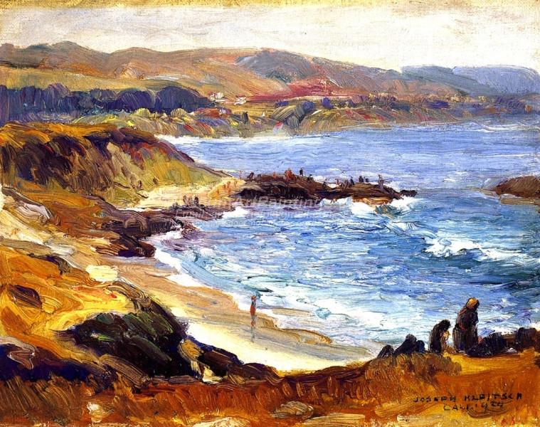 Laguna Beach by Joseph Kleitsch