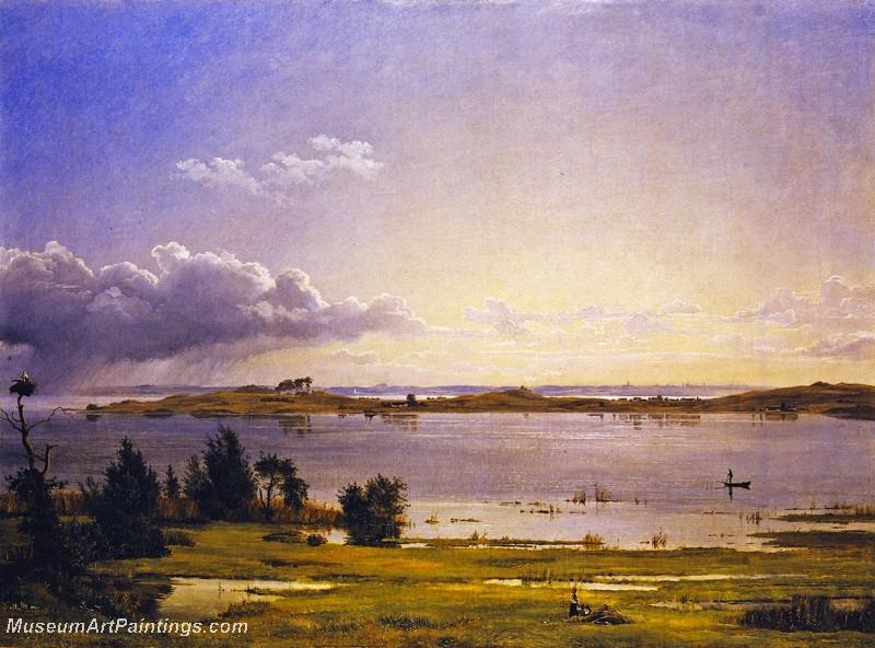 Lake Arre by Johan Thomas Lundbye