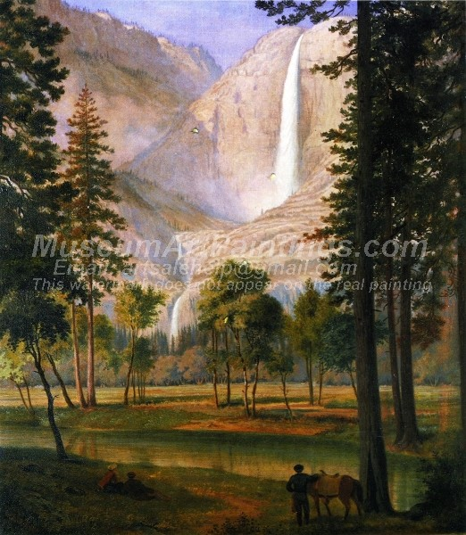 Landscape Oil Painting Yosemite