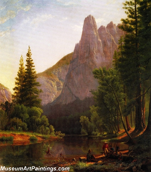 Landscape Painting Along the Mariposa