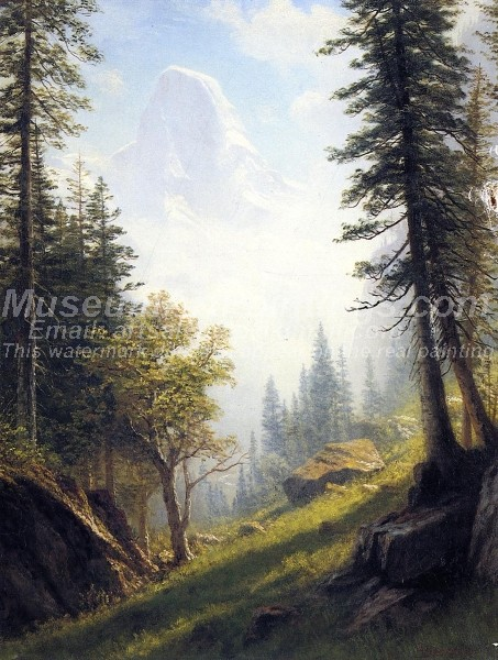 Landscape Paintings Among the Bernese Alps