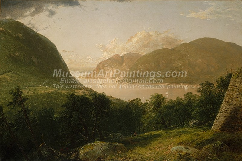 Landscape Paintings Hudson River Scene