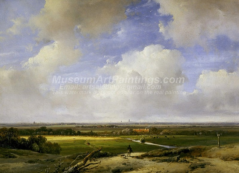Landscape Paintings Landscape Near Haarlem