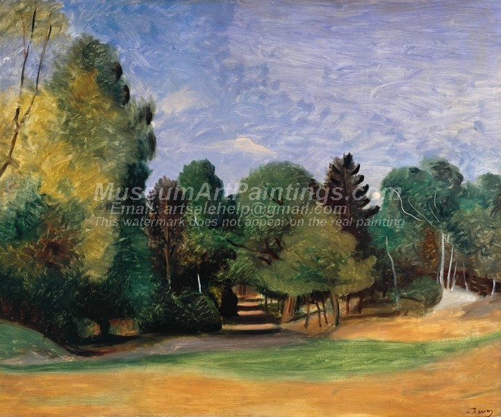 Landscape Paintings Landscape near Barbizon