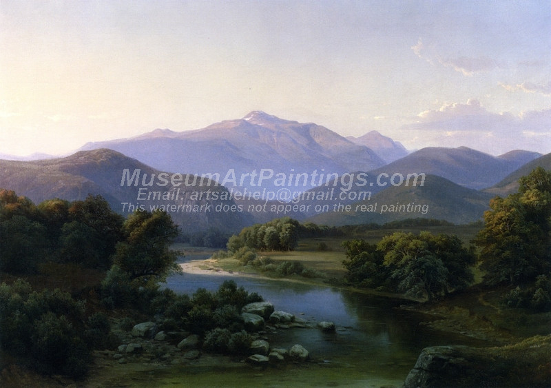 Landscape Paintings Mount Washington