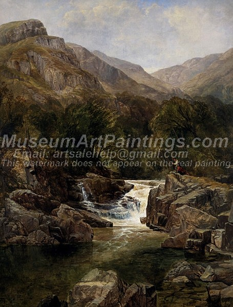Landscape Paintings Scene on the Tummel Perthshire