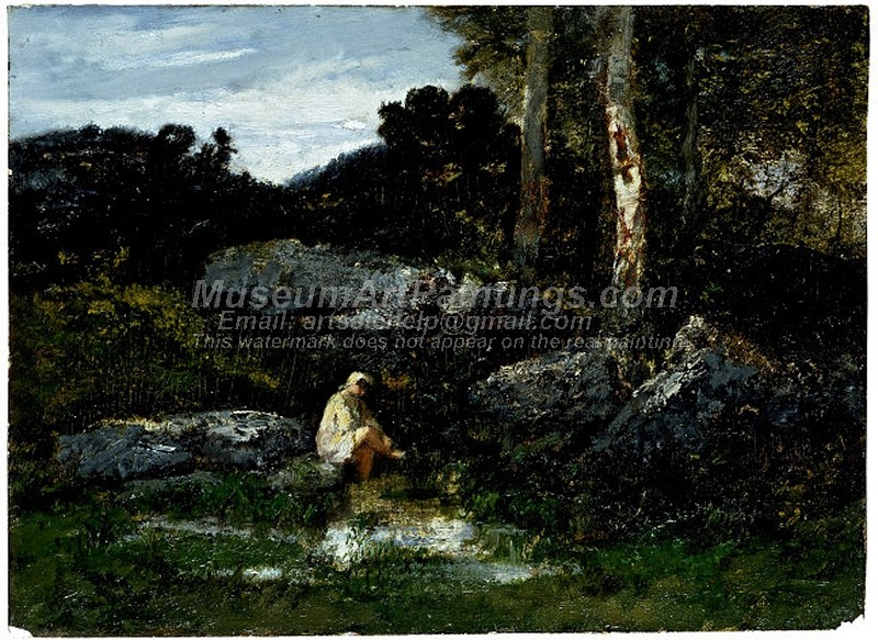 Landscape Paintings The Bather