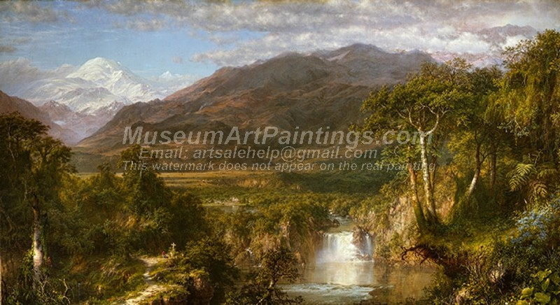 Landscape Paintings The Heart of the Andes