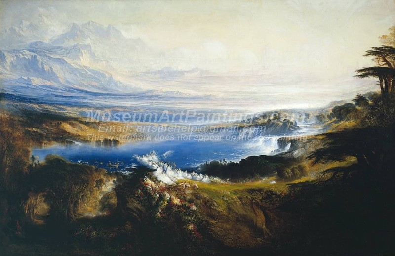 Landscape Paintings The Plains of Heaven