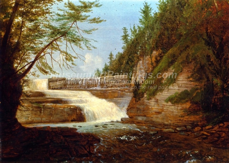 Landscape Paintings View of High Fall