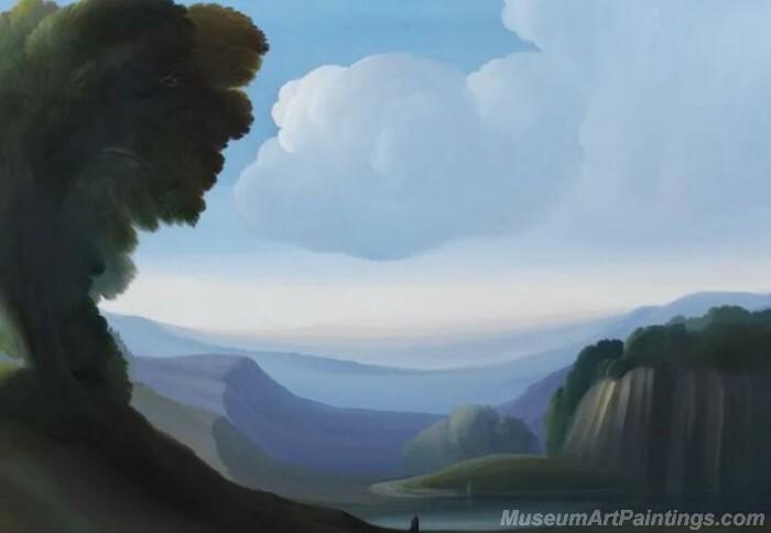 Landscape Paintings by Ubaldo Bartolini LPUB010