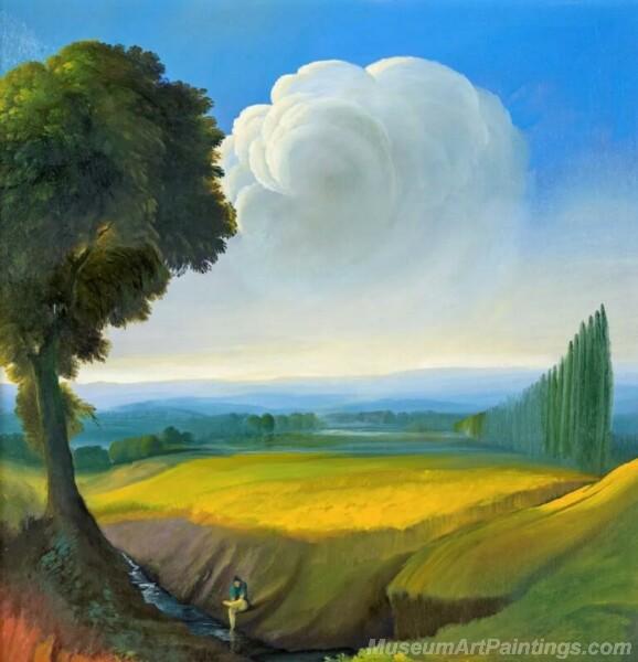 Landscape Paintings by Ubaldo Bartolini LPUB02