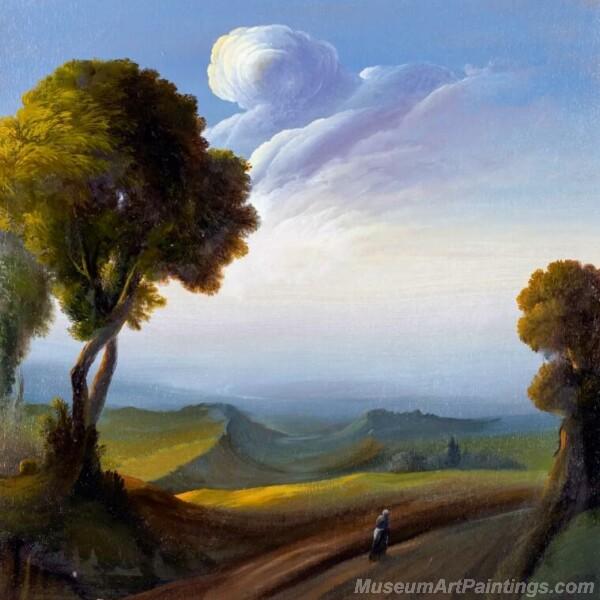 Landscape Paintings by Ubaldo Bartolini LPUB03