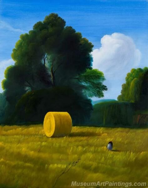 Landscape Paintings by Ubaldo Bartolini LPUB04