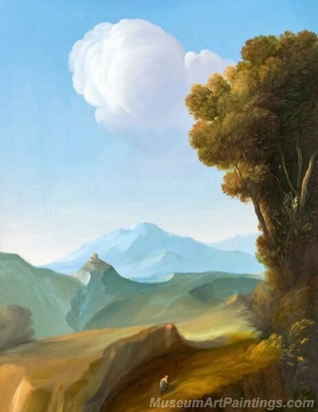 Landscape Paintings by Ubaldo Bartolini LPUB05